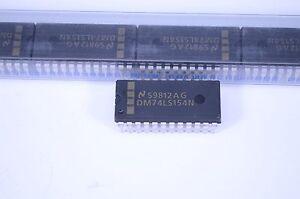1 Tube (15pcs) 74LS154N  ICs (Decode/Demux)