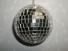 Vintage Mirrored DISCO BALL Christmas Ornament 3""