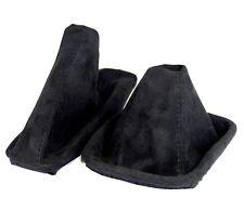 Schaltsack + Handbremsmanschette passend für BMW E 46 3er  aus ALCANTARA schwarz