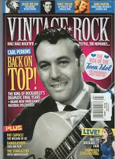 CARL PERKINS VINTAGE ROCK MAGAZINE ISSUE #45 JAN FEB 2020