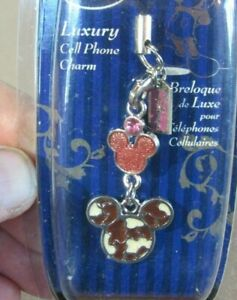 Disney Mickey Mouse Cell Phone Charm New