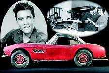 Blechschild, Tin Sign, 20 x 30 cm, Elvis Auto, Nostalgie