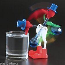 Vintage Retro Happy Drinking Glass Bird Novelty Toy Dipping Dippy Bobbing Duck 1