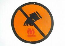 FIRE EXTINGUISHING NO WATER PORCELAIN ENAMEL TIN SIGN