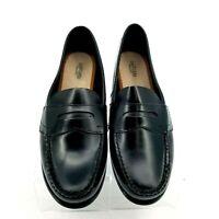 EASTLAND Size 9.5 Wide W Women's Classic II Black Leather ...