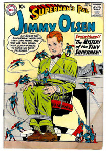 Superman's Pal JIMMY OLSEN #48 in VG/FN condition a 1960 DC Silver Age comic