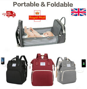 Mommy Diaper Bags Mother Large Capacity Travel Nappy Backpacks with changing mat