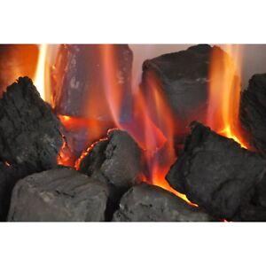 20 Large Random Gas Fire Replacement Coals Living Flame Ceramic Coal Gas Fires