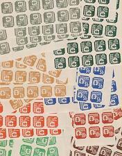 SLOVAKIA,WW II,set without watermark,accumulation 50 x set,MNH