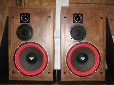 Vintage Cerwin Vega HED U-321 Speakers RARE Professionally Refurbished U321