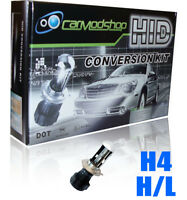 H4 Kit de Conversión Hid Bi-Xenón Set Par Recambio - Plano - 6000K para Porsche