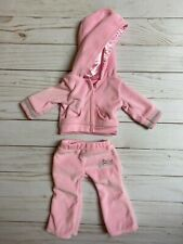"""Doll Clothes 18"""" pink hoodie and pants - Sophia's - Fits American Girl Dolls"""
