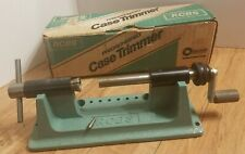 Rcbs Precisioneered Case Trimmer w/ .22 pilot & Collet #1