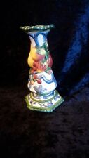 Fitz and Floyd Classics Florentine Fruit Pillar Candle Holder 7 1/2""