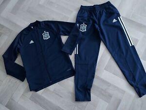 BOY,S  Spain Tracksuit - adidas FEF Football - Boys AGE 11-12 YRS LOVELY