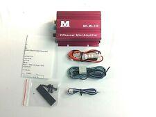 Milennia 2 Channel Mini Amplifier    MIL-MA-100  50X2 Rms Watts