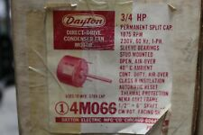 Dayton Condenser Fan Motor 3/4HP - 230V - 1075RPM - 48YZ FRAME - 4M066