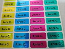 150 Selbstklebende Namensetiketten Etiketten Namensaufkleber Schule Büro klein