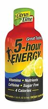 5 Hour Energyshot Nutritional Drink Bottles, Lemon-lime, 1.93 Ounce 12 count
