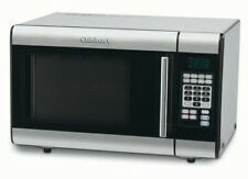 Stainless Steel Microwave Black and Silver 2-Stage Cooking 25 Programmed
