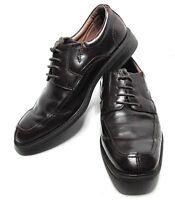 Florsheim 8 1/2 D Mens Oxford Shoes Brown Leather Dress Casual Lace Up
