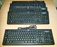 Job Lot of 10 x HP Value PR1101U Black USB Keyboard UK QWERTY