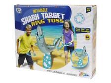 Inflatable Ring Toss Shark Quoits Kids Beach & Childrens Garden Throwing Game