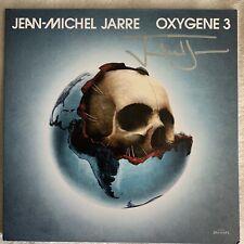 Jean-Michel Jarre Oxygene 3 Clear SIGNED Autographed Vinyl Record LP