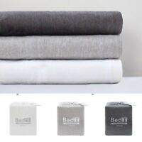 Bambury BedT 100% Cotton Jersey T-Shirt Sheet Set King|Queen|Double|King Single