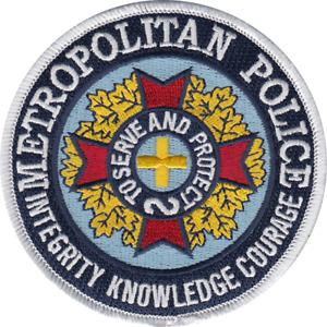 METROPOLITAN POLICE SHOULDER PATCH: Police Academy (1984)