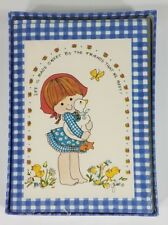 NIP Montag by Mead Freckles & Frills assorted 5 x 4 inch notecards set VTG 1983