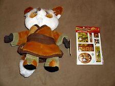 Shi Fu Kohl's Exclusive Plush + Kung Fu Panda Stickers