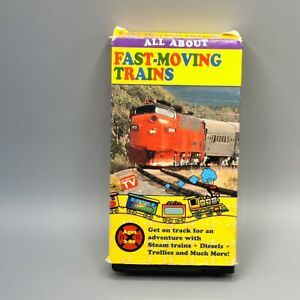 All About Fast Moving Trains VHS Goodtimes Strasburg Western Maryland 1994 VTG