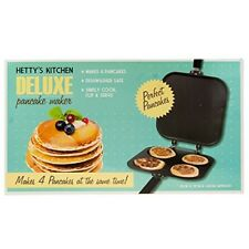 Pancake Maker Pan Flip Perfect Breakfast Maker Eggs Frying Omelette Deluxe