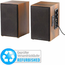 auvisio Aktives Stereo-Regallautsprecher-Set (Versandrückläufer)