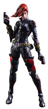 """THE AVENGERS - Black Widow 9.5"""" Variant Play Arts Kai Action Figure #NEW"""