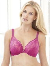 Glamorise Elegance Lace Underwire Bra - 38B to 48B