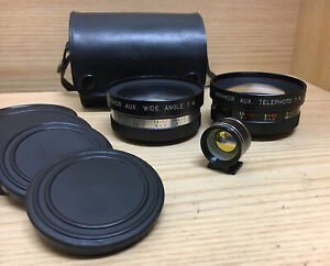 *Exc+5* Yashica Electro 35 Telephoto and Wide Angle Conversion Lens & Viewfinder