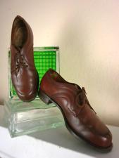 Schnürschuhe Schuhe Schnürschuhe Halbschuhe Handmade Leder 40s True Vintage 40er