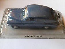 """DIE CAST """" WARSZAWA M-20 """" AUTO DELL' EST SCALA 1/43"""