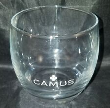 CAMUS COGNAC GLASS ETCHED COLLECTIBLE BALLOON GLASS PROMO - NEW - RARE -