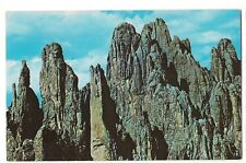 Cathedral Spires Black Hills National Forest South Dakota Postcard Sd
