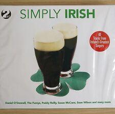 2CD NEW - SIMPLY IRISH - Folk Pop Music 2x CD Album - Fureys Wilson O'Donnell