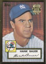 2002 Topps 1952 Reprint Baseball #52R-19 Hank Bauer New York Yankees
