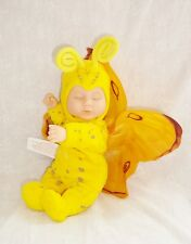 Poupée Doll Anne Geddes 2001 Papillon Jaune Yellow Butterfly 24cm