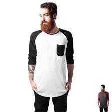 Urban Classics Unifarben Herren-T-Shirts aus Baumwolle ohne Mehrstückpackung