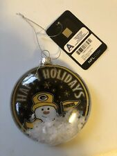 Green Bay Packers Snow globe Christmas Ornaments NFL Football