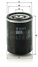 MANN FILTERS - W610/3 - Filtre à huile MANN FILTERS W6103