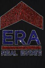 ERA real estate rhinestone  bling shirt  XS S M L XL XXL 1X  2X 3X 4X 5X