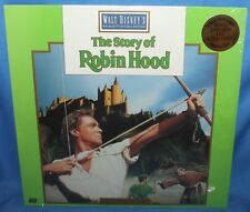Disney's The Story Of Robin Hood Laserdisc Walt Disney Home Video Laser Disc New